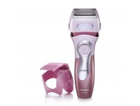 Panasonic Electric Shaver for Women, Cordless 4 Blade Razor, Bikini Trimmer Attachment, Pop-up Trimmer, Wet Dry Operation, Close Curves – ES2216PC