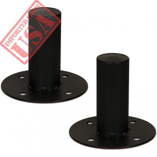 Goldwood Speaker Stand Top Hat 2 Speaker Cabinet Pole Mount Black (TH44)