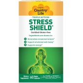 Country Life Stress Shield - 60 Vegetarian Capsules