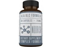Acetyl L-Carnitine with Alpha Lipoic Acid - ALA ALC ALCAR - Alpha Lipoic Acid with Acetyl L-Carnitine - 525 mg ALCAR - 225 mg ALA - 90 Capsules