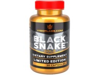Limited Edition Black Snake Gold By Vigor Labs, Men's Enlargement Supplement, Enhances Blood Flow for Firmness and Size