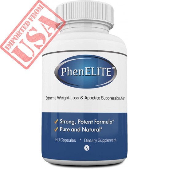 PhenELITE Weight Loss & Appetite Suppressant: Belly Fat Burner & Diet Supplement Pill with Apple Cider Vinegar, Raspberry  Ketones & Green Tea Extract - Boost Energy & Endurance - 60 Capsules