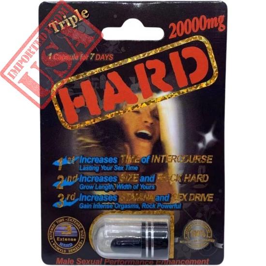 Wickd Hard 20000 1Capsule 7 Days