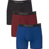 Hanes Men's Comfort Flex Fit Total Support Pouch 3-Pack, Available in Regular and Long Leg