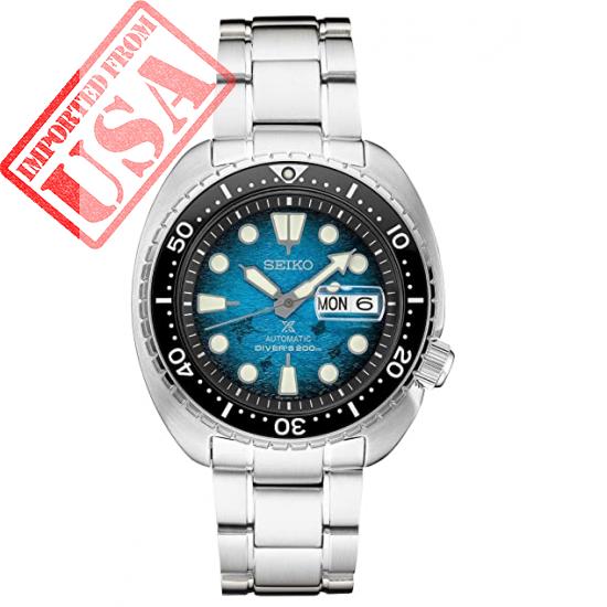 Seiko SRPE39 Prospex Men's Watch Silver-Tone 45mm Stainless Steel