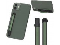 SleekStrip Stand & Grip - Ultra Thin Phone Strap Holder for Hand with 2-Angle Stand, Modern Design with Strong Hold Adhesive, Fits Most iPhone and Android Phone Cases, Wireless Chargers and Car Mounts