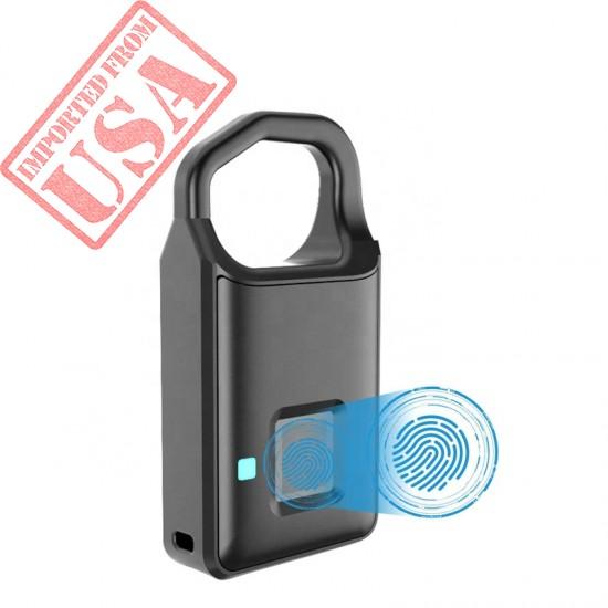 Keyless electronic padlock smart Fingerprint Padlock