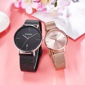 High Quality OEM ODM Custom Men Women Wristwatch Lover Stainless Steel Quartz Couple Watch Set