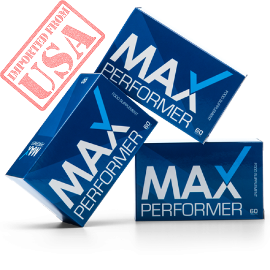 GET MAX PERFORMER! GET STRONGER AND MORE INTENSE ORGASMS FOR YOU AND YOUR PARTNER