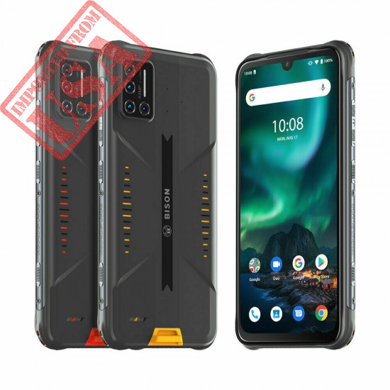 UMIDIGI BISON Rugged Smartphone 8GB+128GB Waterproof Shockproof Unlocked 2 SIM