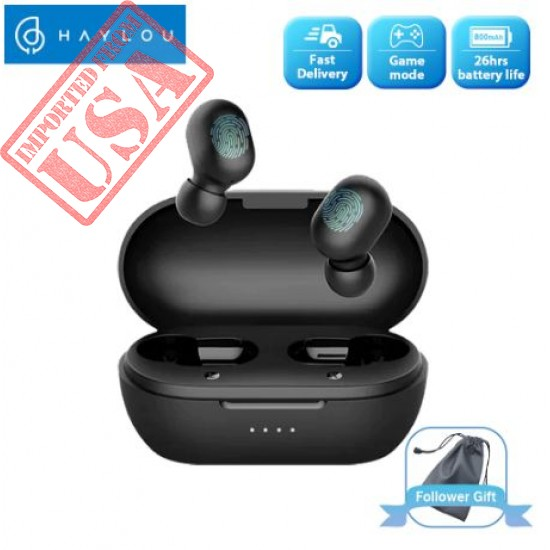Haylou Bluetooth Earphones Touch Control Wireless Headphones Sale in Pakistan