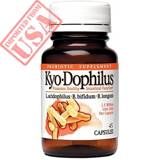 Kyo-Dophilus Daily Probiotic, Immune and Digestive Support*, 45 capsules (Packaging may vary)
