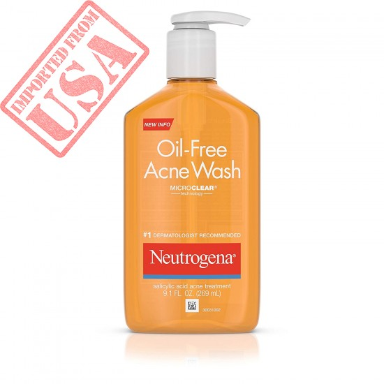 Neutrogena Acne Wash, Oil-Free Online in Pakistan