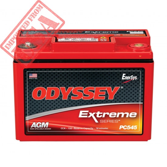 Buy imported Odyssey PC545MJ Power sports Battery sale online in Pakistan