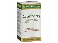 Nature's Bounty Cranberry Dietary Supplement 60 Soft Gels imported usa Sale online in Pakistan
