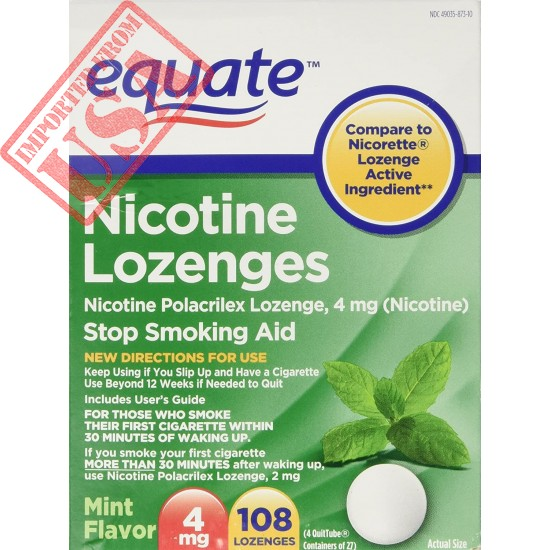 Buy Original Imported Nicotine Lozenge by Equate Online in Pakistan