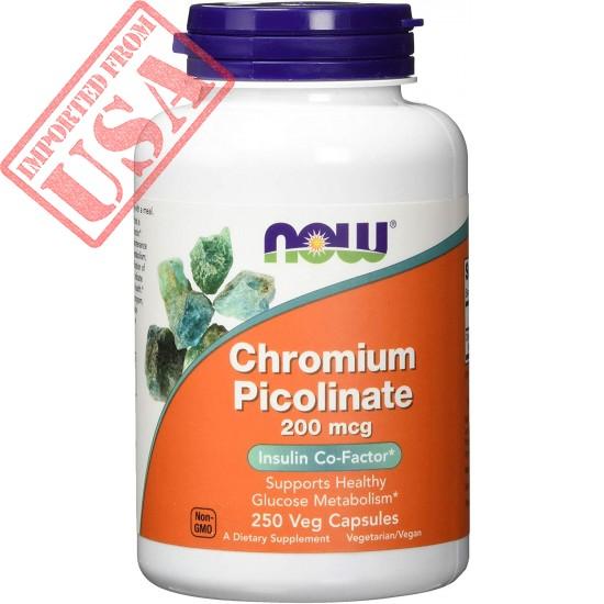 Original NOW Supplements, Chromium Picolinate 200 mcg, Online in Pakistan