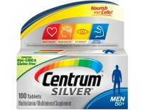 Original Centrum Silver Men 50+ Multivitamin / Multimineral Supplement Tablet, Vitamin D3 USA made Sale in Pakistan