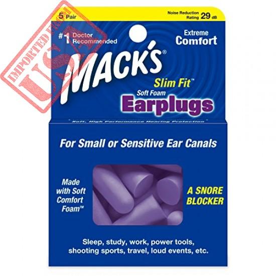 Original Mack's Slim Fit Soft Foam Earplugs online in Pakistan