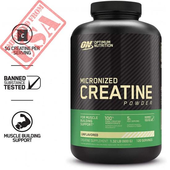 Buy Micronized Creatine Monohydrate Powder USA imported in Pakistan