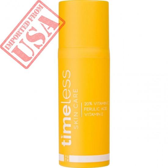 Original Timeless Skin Care 20% Vitamin C Plus E Ferulic Acid Serum Online in Pakistan