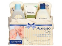 aveeno baby essential daily care baby & mommy gift set shop online in pakistan
