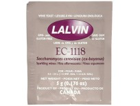Buy Original Lalvin Dried Wine Yeast Ec #1118 (Pack Of 10) Made In USA