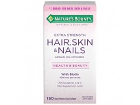 Buy Multivitamin Supplement for Hair Skin & Nails Extra Strength by Nature's Bounty Made in USA