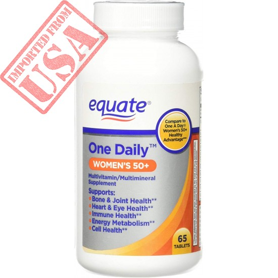 One Daily Women's 50+ Multivitamin Supplement 65ct By Equate Sale in Pakistan