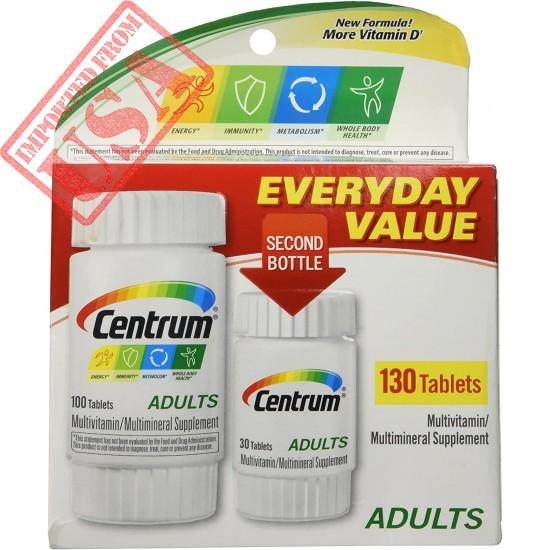 Original Centrum 130 Everyday Value 130ct Sale in Pakistan