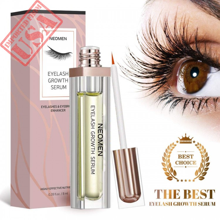f1fc275562a Vassoul Natural Eyelash Growth Serum for Lash and Brow, Irritation ...