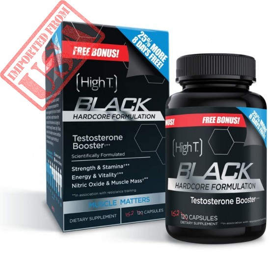 High T Black - Best All Natural Testosterone Booster - Energy Booster - Sale in Pakistan