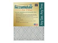 Accumulair Gold 19.88x21.5x1 (Actual Size) MERV 8 Air Filter/Furnace Filters (4 pack)