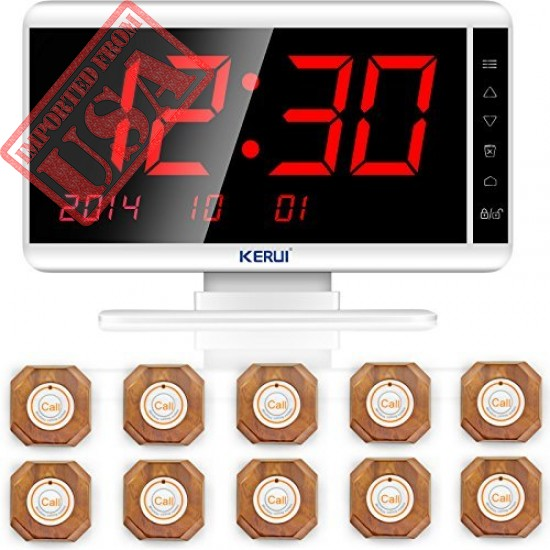 High Quality Paging System,KERUI Wireless Waiter Server Paging Calling System Made in USA