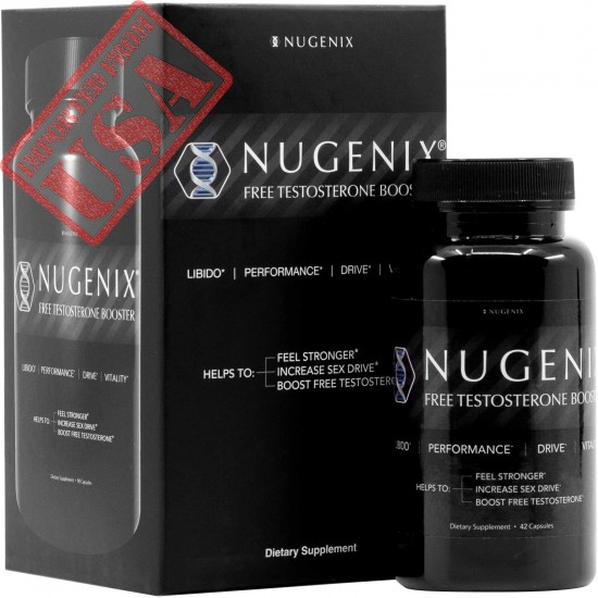 Nugenix Free Testosterone Booster for Men