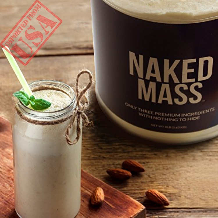 Chocolate Weight Gainer Protein Supplement   Less Naked