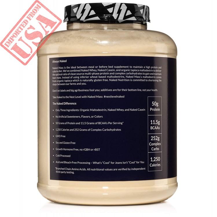 Naked Vegan Mass - Natural Vegan Weight Gainer Protein