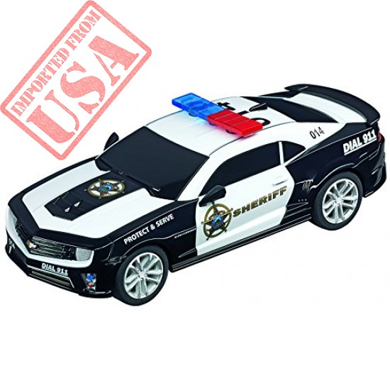 Carrera GO 64031 Chevrolet Camaro ZL1 Sherrif Slot Car Racing Vehicle