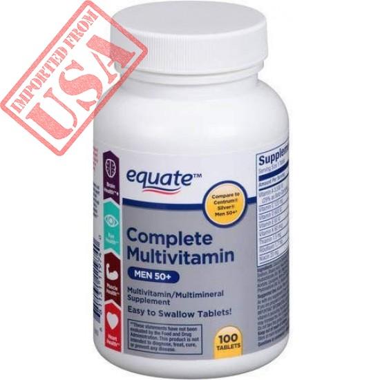 Buy Complete Multivitamin for Men 50+ USA Brand in Pakistan