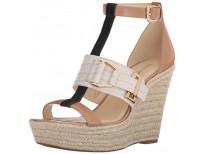 Buy Nine West Women's Jellia Leather Wedge Sandal Online in Pakistan
