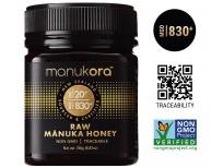 Manukora UMF 20+/MGO 830+ Raw Mānuka Honey Authentic Non-GMO New Zealand Honey, Traceable from Hive to Hand Sale in Pakistan