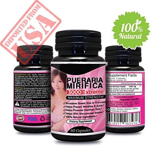 Buy original Breast Enhancement Pills by Natural Pueraria Mirifica Breast Enlarger sale in Pakistan