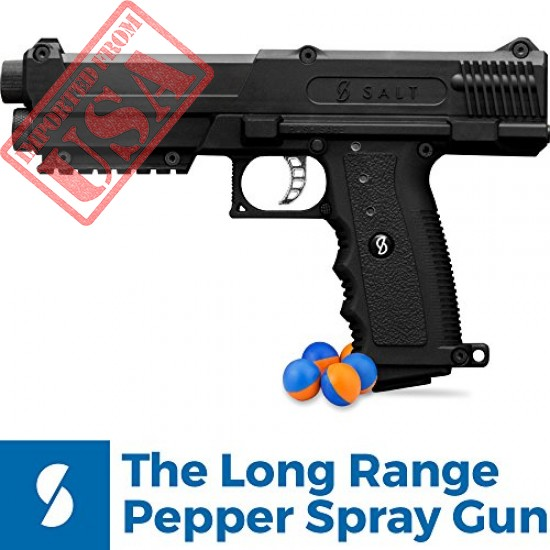 Salt Supply Pepper Spray Gun Self Defense Kit