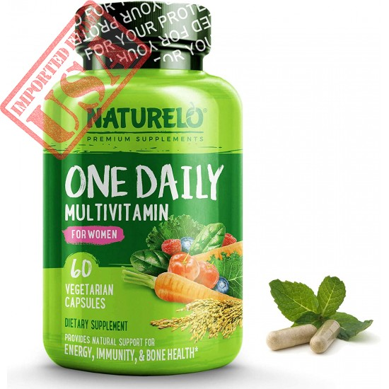 Buy One Daily Multivitamin For Women Of Naturelo Brand Vitamins & Organic Extracts In Pakistan