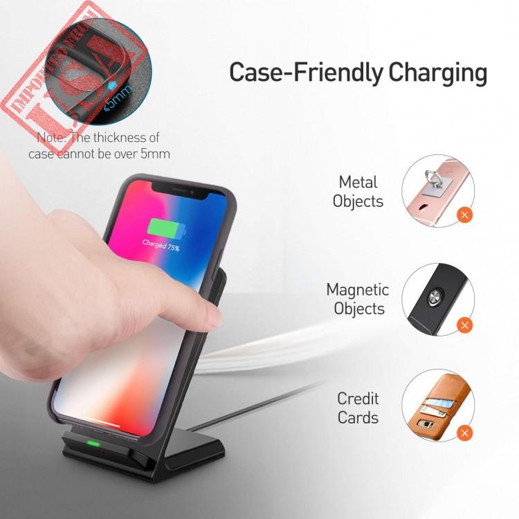best website 1edbd 4ebf4 high quality seneo iphone x wireless charger, qi certified 10w fast ...