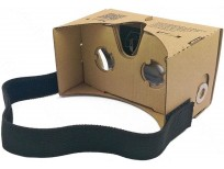 Google Cardboard Kit By Easy Tech Gear Virtual Reality VR Google Glasses Google Cardboard 3D Glasses for Mobile Phone 5.0 Screen and I Phones Screen + Adjustable Head Mount