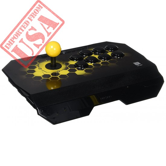 Qanba Drone Joystick for PlayStation 4 and PlayStation 3 and PC (Fighting Stick) Officially Licensed Sony Product