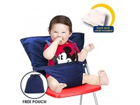 Buy online safe Baby High Chair with Adjustable Shoulder Belt for Travel