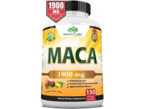 Organic Maca Root Black, Red, Yellow 150 Vegan Capsules Peruvian Maca Root Gelatinized 100% Pure Non-GMO