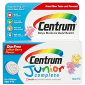 Shop Centrum Junior Complete, Chewable Multivitamin/Multimineral Supplement